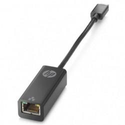 HP Adaptateur USB-C a RJ45 - Noir