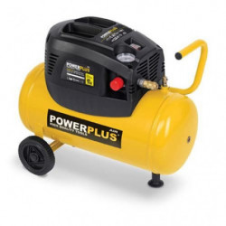 POWERPLUS Compresseur - 24 L - 8 bar - 1,5HP - 1100 W