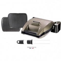 LAGRANGE 019323 Gaufrier Premium + 2 jeux de plaques Gaufres