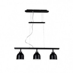 DOCKA Suspension en métal 3 lumieres - 81 x 13 x H.22,5 cm