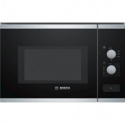 BOSCH BFL550MS0 - Micro-ondes monofonction encastrable inox