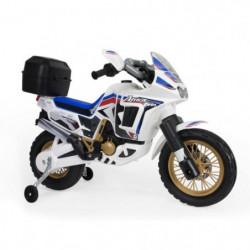 INJUSA Moto Honda Africa Twin 6V Blanca
