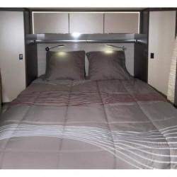 MIDLAND Pret-a-Dormir 130x190 cm Coupe a Gauche