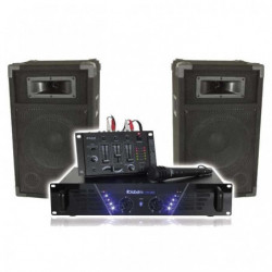 IBIZA BOOST DJ-300 Kit de sonorisation DISCO 480W