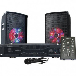 IBIZA DJ350LED Kit de sonorisation Disco