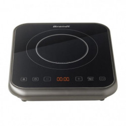 BRANDT TI1FSOFT Table de cuisson posable a induction Noir