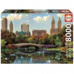 EDUCA - Central Park Bow Bridge 8000 pcs