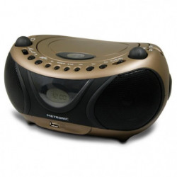 MET 477106 Radio CD-MP3 Copper and Black
