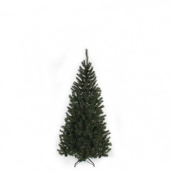 Sapin de Noël Kingston - PVC - H 155 x Ø 86 cm - 345 branches