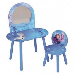 Fun House Disney Reine des Neiges coiffeuse avec chaise