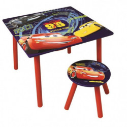 Fun House Disney Cars table activite+tabouret pour enfant