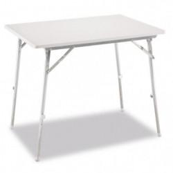 EREDU Table Pliante a Pieds Réglables 726 - 80 x 60 cm