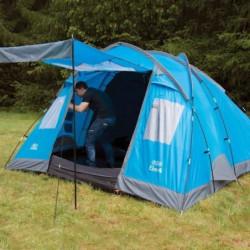 HIGHLANDER Tente Familiale ELM 4 Bleu Vif