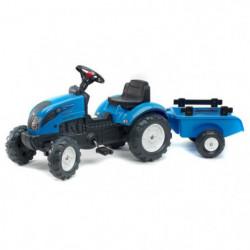 LANDINI Tracteur a pédales PowerMondial 110 avec remorque