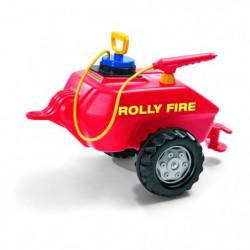 ROLLY TOYS Remorque Pompier pour tracteur a pédales