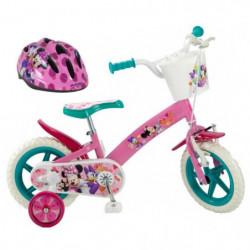 """DISNEY MINNIE Vélo 12"""" + Casque - Enfant fille"""