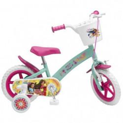"""Vélo 12"""" Elena d'Avalor - Fille - Rose / Vert d'Eau"""