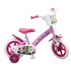 """Vélo 12"""" Fantaisy Ourson - Fille - Rose"""