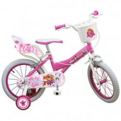 "PAW PATROLS Vélo Enfantfille14"" 4/7 ans"