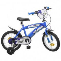 """Vélo 14"""" Speed - Garçon - Bleu"""