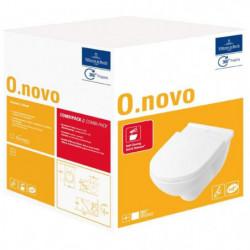 VILLEROY & BOCH CombiPack WC suspendu O.novo