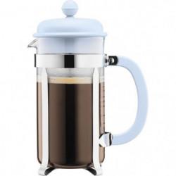 BODUM CAFFETTIERA Cafetiere a piston - 8 tasses - 1 L - Bleu