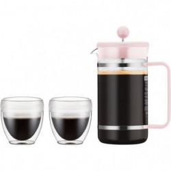 BODUM BISTRO SET Cafetiere a piston Pavina Outdoor - 8 tasses