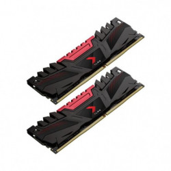 PNY Mémoire PC DDR4 2666, 2KIT, AXR - 16 Go