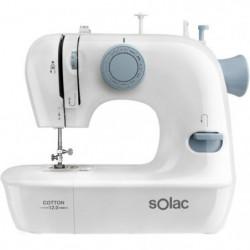 SOLAC COTTON 12.0-SW8220 Machine a coudre - 7,2 W - 2 vitesses
