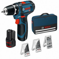 Bosch GSR 12V-15 perceuse visseuse sans fil + 2 batteries