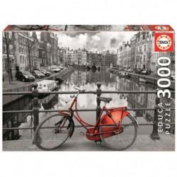 EDUCA Puzzle 3000 Pieces - Amsterdam