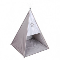 Tente tipi Dogi 37x37x52 cm - Taupe - Pour chien