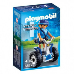 PLAYMOBIL 6877 - City Action - Policiere avec Gyropode