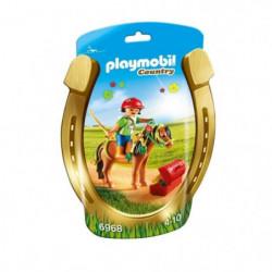 PLAYMOBIL 6968 Poney a Décorer 'Fleur'