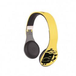 LEXIBOOK - Casque Stéréo Bluetooth - Les Minions - Mixte