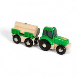BRIO World  - 33799 - Tracteur Et Remorque