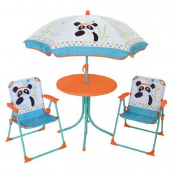 FUN HOUSE 713095 INDIAN PANDA Salon de jardin avec une table