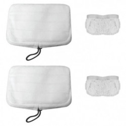 VAPORETTO PAEU0307 Lot de 2 serpillieres + 2 bonnettes