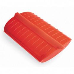 LEKUE LSC600 Coffret vapeur rouge