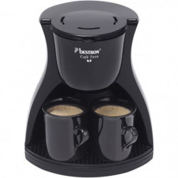 BESTRON ACM8007BE Cafetiere filtre Twin - 2 tasses - Arret a