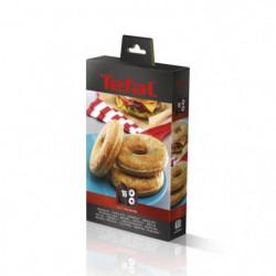 TEFAL Accessoires XA801612 Lot de 2 plaques bagels Snack Col