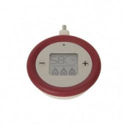 SEB Minuteur Clipso + Precision X1060005 rouge