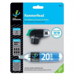 TOPEAK Bonbonne de gonflage Innovation Hammerhead 20 gr