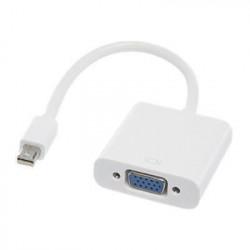 APM Convertisseur Mini DisplayPort Mâle VGA Femelle - Blanc