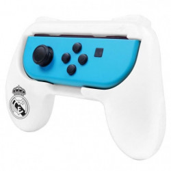 Duo de Grips blancs Real Madrid pour manette Switch
