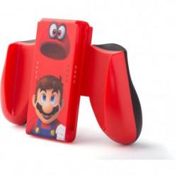 Nintendo Switch Poignée ergonomique - Mario Odyssey - Rouge