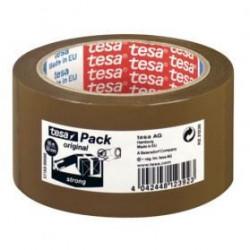 TESA Ruban adhésif d'emballage ultra solide - Marron