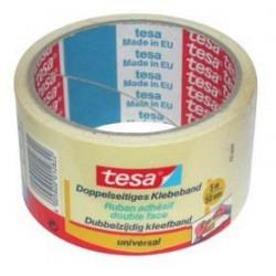 TESA Ruban adhésif Double face Adhésion forte - 5m x 50mm