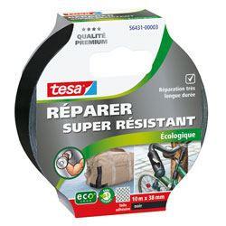 TESA Ruban de réparation Toilé Super Résistant - 10m x 38mm