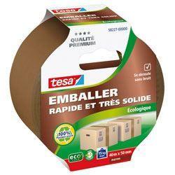 TESA  Ruban adhésif d'emballage carton ecoLogo - 40m x 50mm